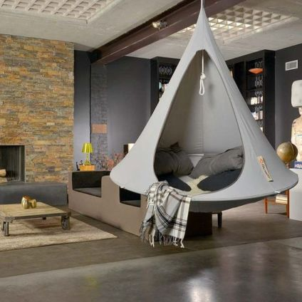 Double Hanging Cacoon hammock