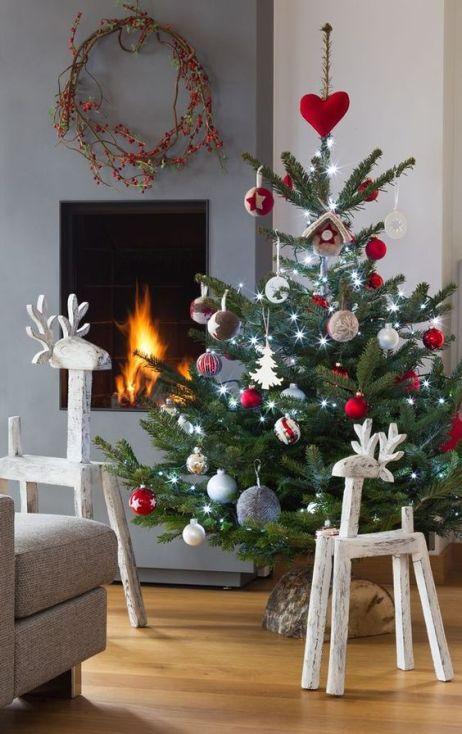 Nordic style Christmas tree