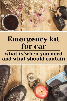 Emergency kit for car what it is when you need it and what should contain