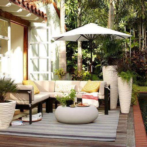 English porch decor
