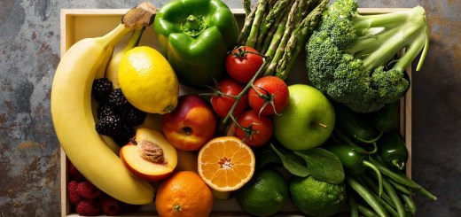Fruits and vegetables rich in vitamins that will boost energy level