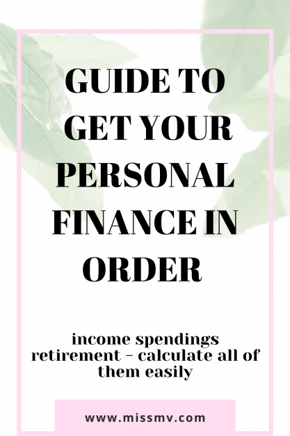 Guide to get your personal finance in order and save money during lockdown.