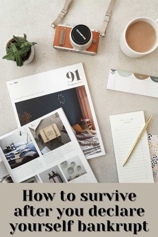 How to survive after you declare yourself bankrupt