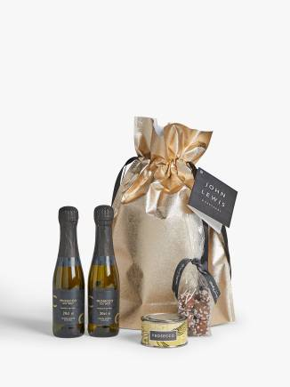 John Lewis Prosecco Bag Christmas gift set for her