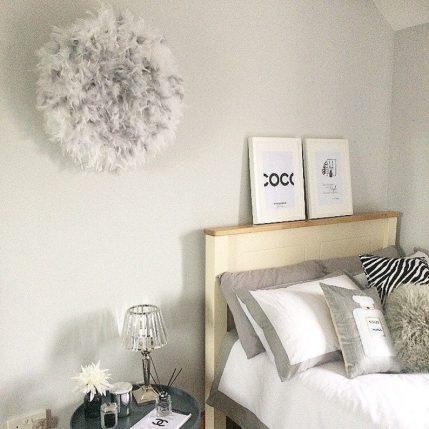 Lush juju hat bedroom wall decor inspiration
