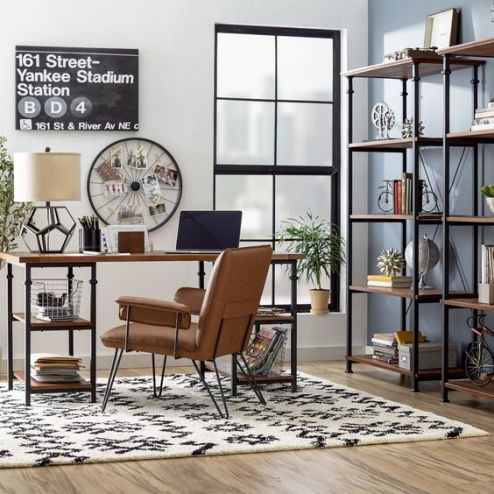 Modern New Yorker style home office decor