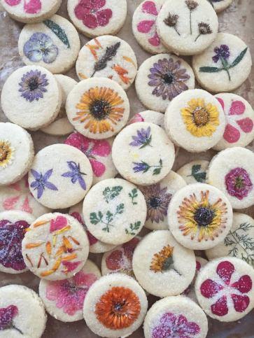 Original Flower Pressed Shortbread Cookies - 100% Organic