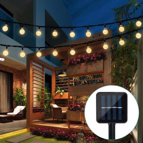 Patio & Garden solar power led lights