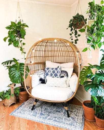 Hanging Chairs For A Cosy And Stylish Decor Missmv Com