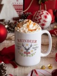 Reindeer Treats Christmas Mug