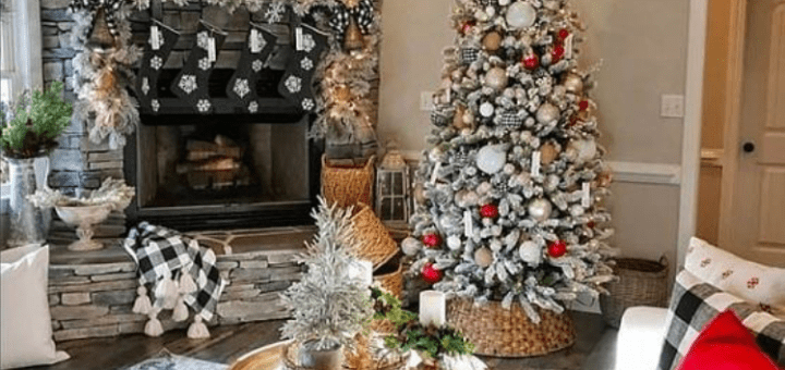 Rustic farmhouse Christmas decorating ideas to try this year
