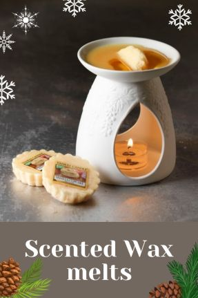 Scented wax melts a beautiful craft that is in high demand during Christmas
