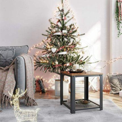 Simple natural Christmas tree