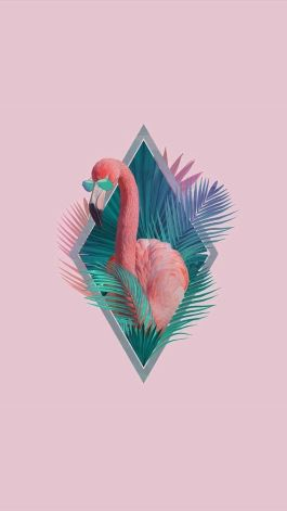 The coolest flamingo for your valentine's day