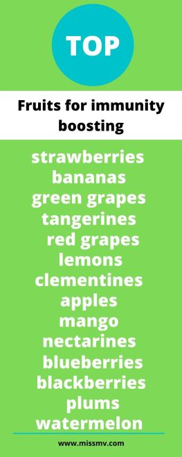 Top fruits for immunity boosting