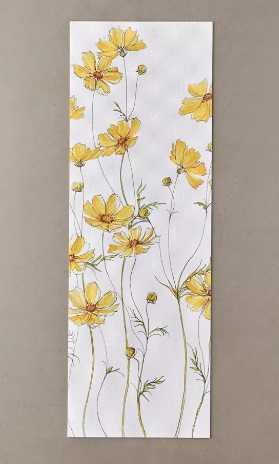 Urban outfitters Cosmos Flowers Yoga Mat