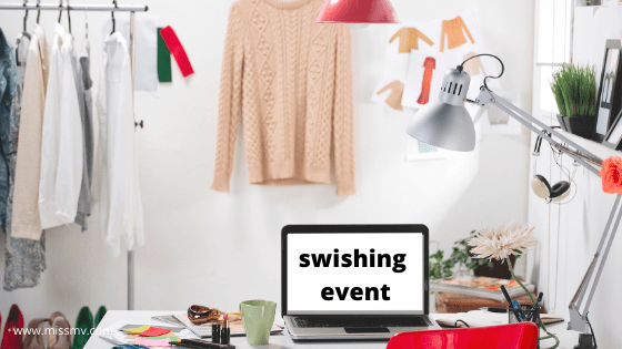 What is a swish party and how does it work.Everything you need to know to organize a community clothes swap.