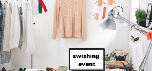 What is a swishing party and how does it work