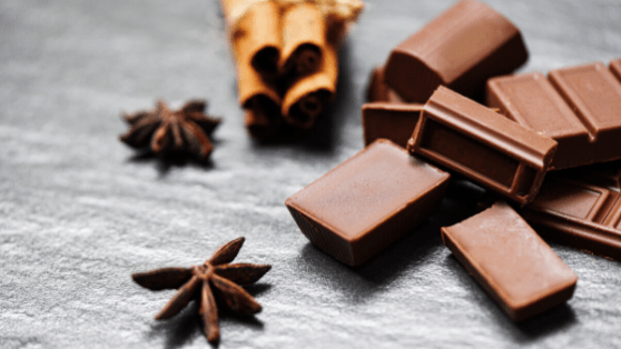 Chocolate is the best mood booster and increases positive feelings in the human brain.