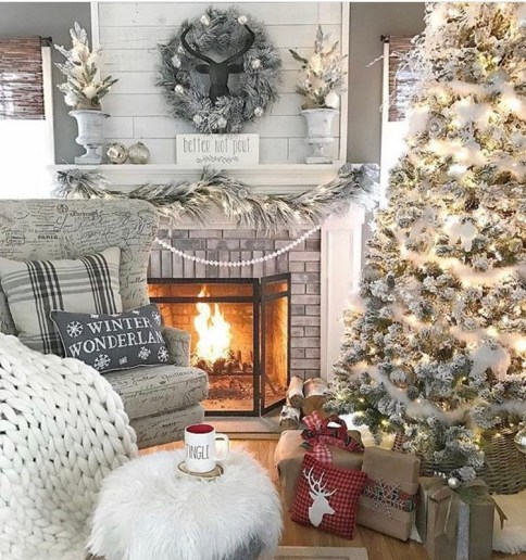 Eclectic Christmas tree decor