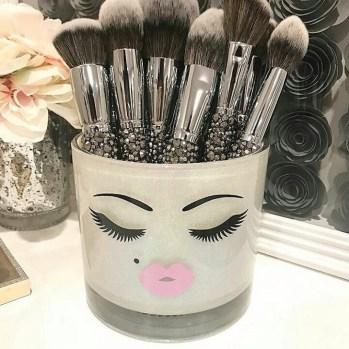 makeup holder. Makeup organizer DIY christmas craft to sell