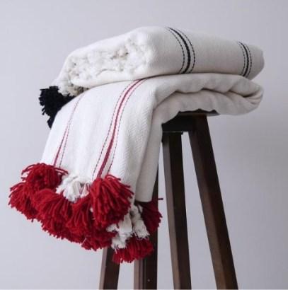 throw blanket, blanket, handwoven blanket, turkish blanket, throw blanket, red blanket, sofa blanket, throw pillow, boho blanket,boho design
