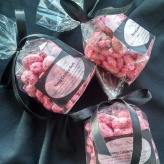 Venag snacks 3 x cashew beet packs small