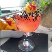 Miss Nang Treats tropical sip Cocktail Seedy glass1