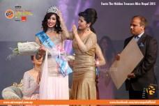 Evana Manandhar Miss Nepal Crowning 2