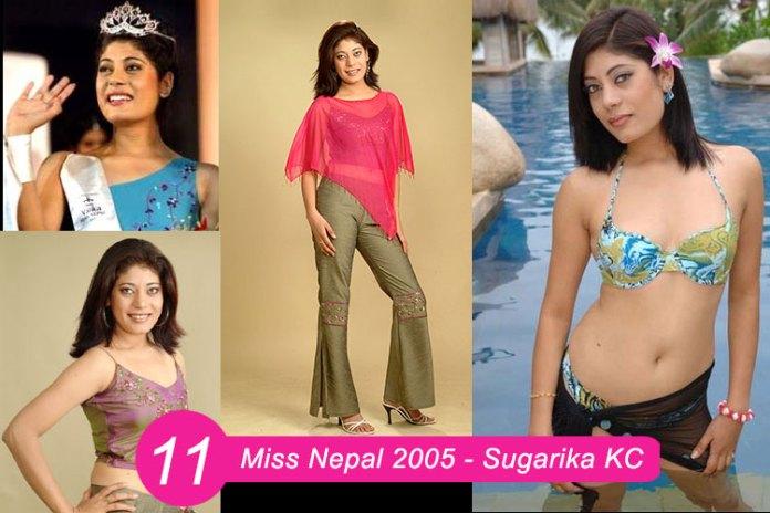 Miss Nepal 2005 – Sugariaka KC