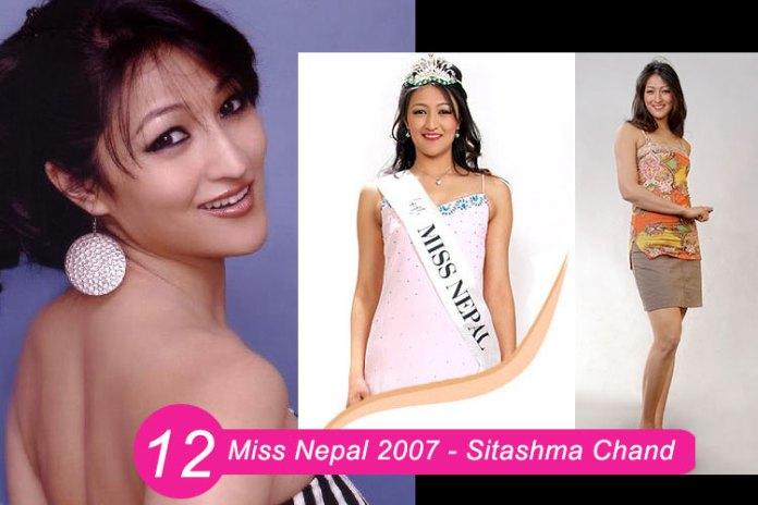 Miss Nepal 2007 – Sitashma Chanda