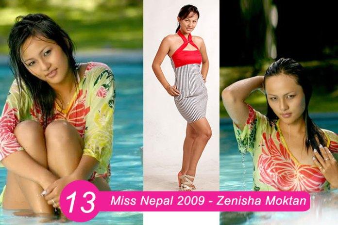 Miss Nepal 2009 Zenisha Moktan