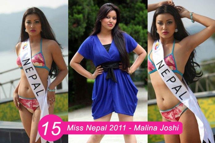 Miss Nepal 2011 – Malina Joshi