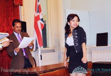 Miss UK Nepal 2012 at Embassy of Nepal 2