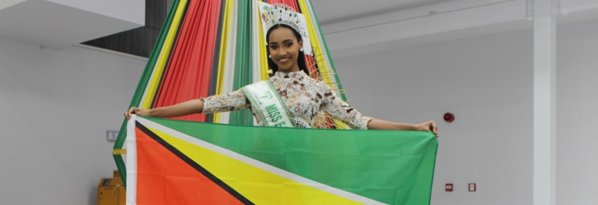 Miss Earth Guyana 2018 Leaves For International Competition!