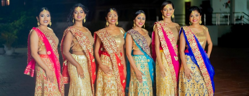Miss India Worldwide Guyana Finalists Official  Sashed!