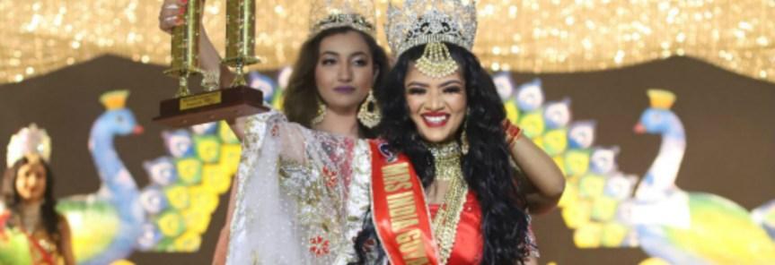 Mrs India Guyana 2019 is Kristal Inshan!