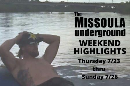 Weekend Highlights from The MUG 7/23 thru 7/26