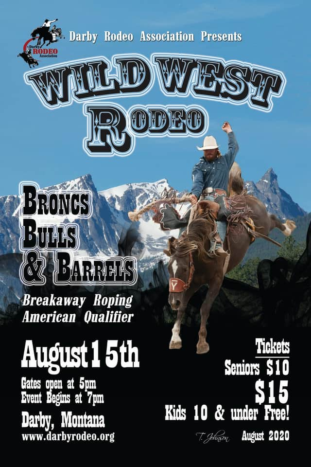 Wild West Rodeo in Darby Montana