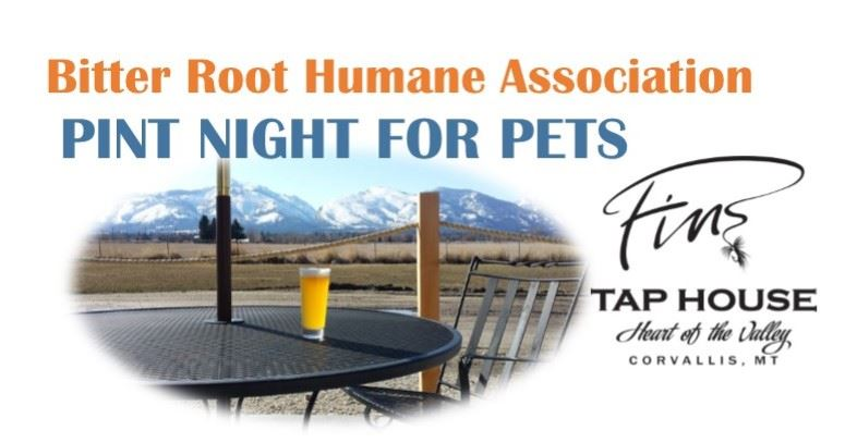 Bitter Root Humane Association - Pint Night for Pets