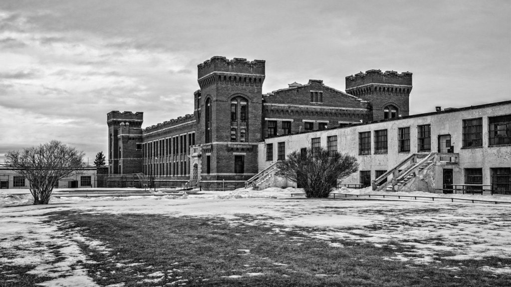 Old Montana State Prison Ghost Hunt - Deer Lodge MT