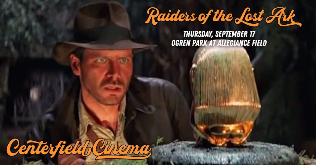 Raiders of the Lost Ark at Centerfiled Cinema