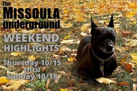 Weekend Events - Oct 15-18