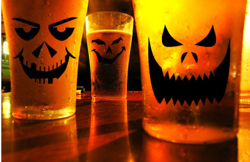 Old Bull Brewing in Frenchtown Halloween Party