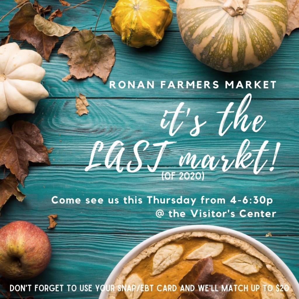 Ronan Farmers Market