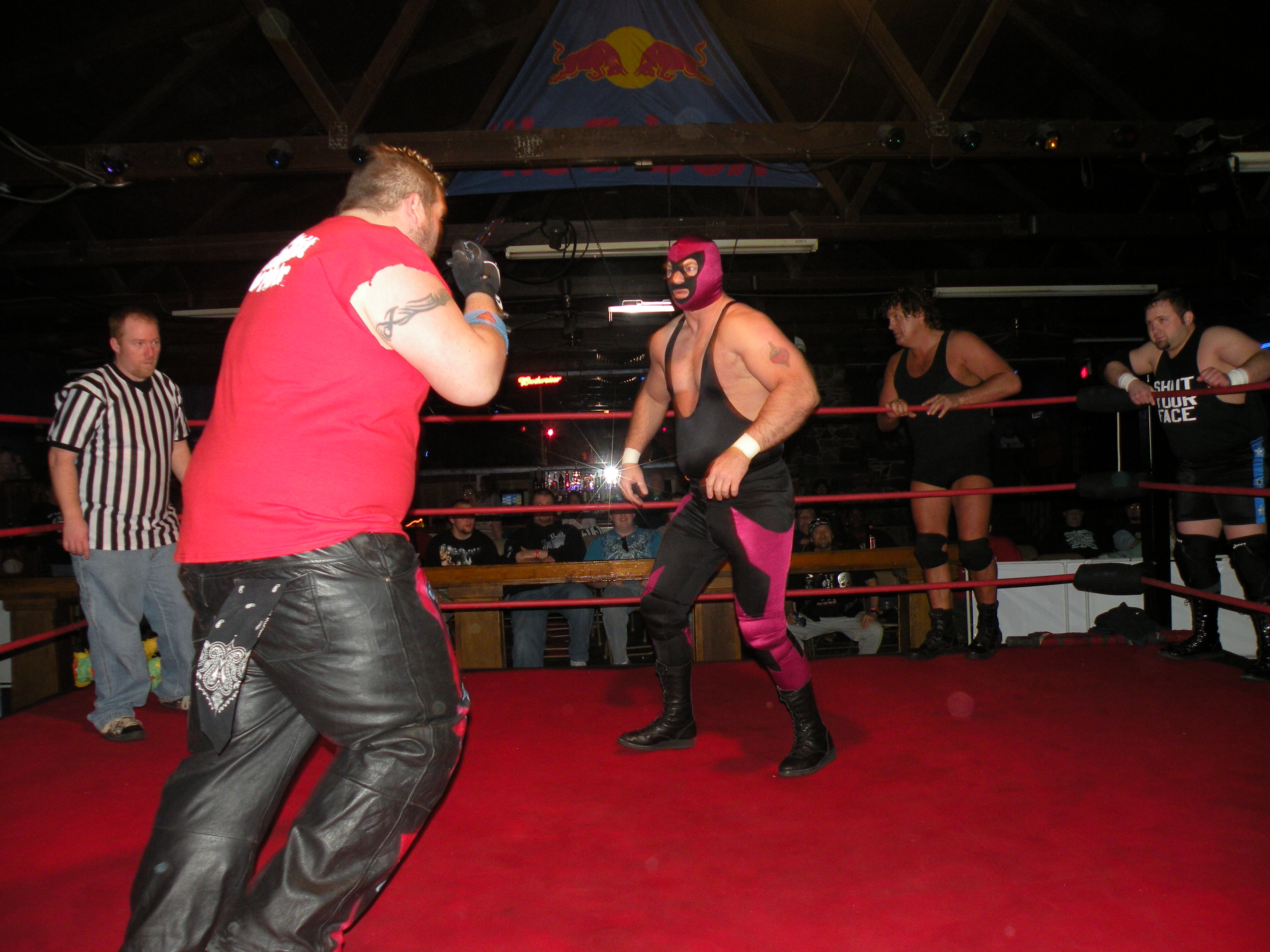 Big men collide when Carnage meets Sage Ramsey.