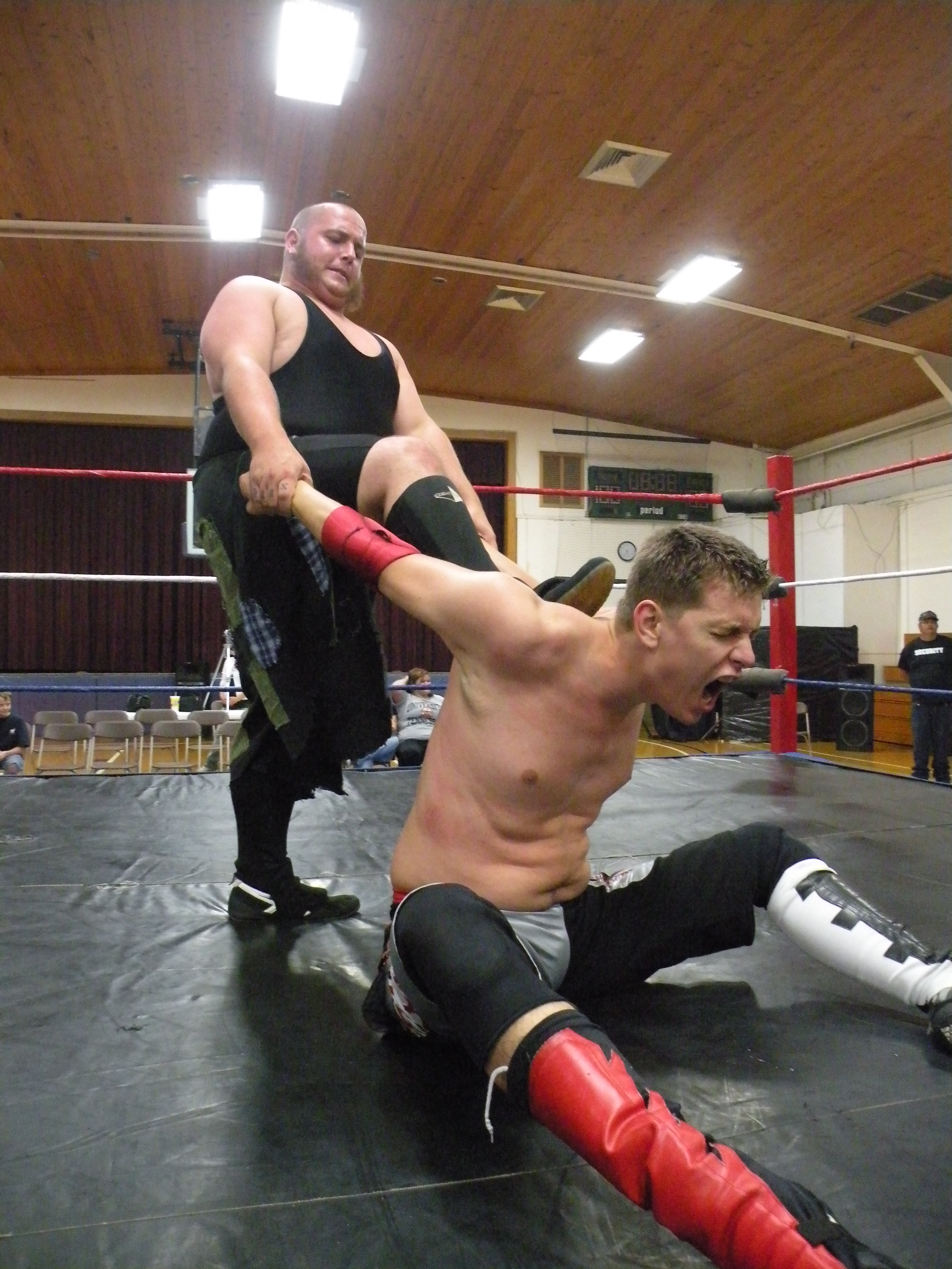 """The Hooligans can hurt you in many ways. Just ask Evan Gelistico. (Photo Credit Brian """"Flair"""" Kelley)"""