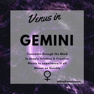 Venus in gemini