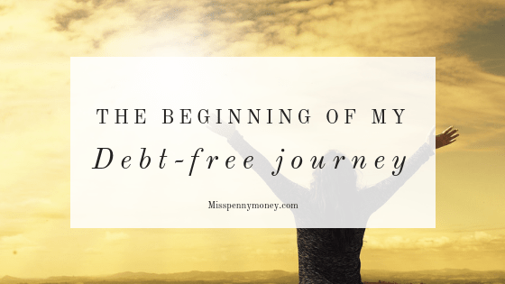 My debt-free journey and how it began