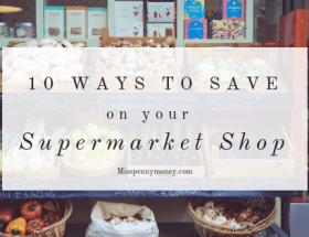 How to save money on your grocery shopping